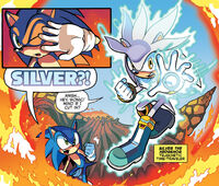 Silver Helping Sonic