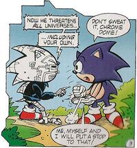 Cyborg Sonic