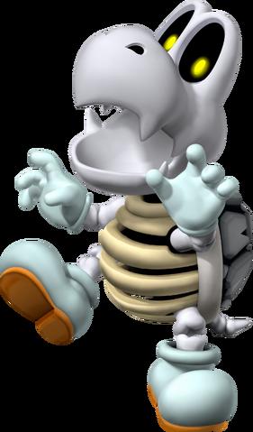 File:Dry Bones Artwork - Mario Party 7.png