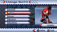 Knuckles's Race Suit