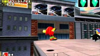 Sonic Adventure DX (GC) Knuckles Speed Highway Missions Level B and A