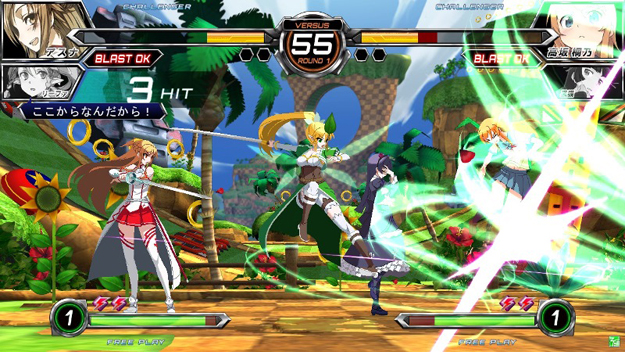 File:Dengeki Bunko Fighting Climax Green Hill Zone.jpg