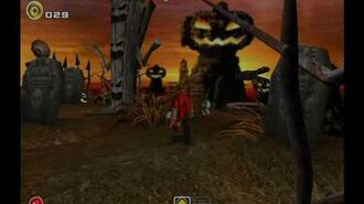 Sonic Adventure 2 Battle (GC) Pumpkin Hill Mission 1 A Rank