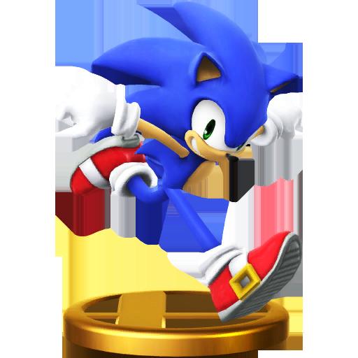 File:Trophy 610 - Sonic the Hedgehog (SSB for Wii U).png