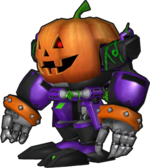 Sonic Runners Halloween Omega model