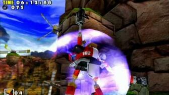 Sonic Adventure DX (GC) E-102 Windy Valley Missions Level B and A