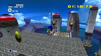 Sonic Adventure 2 (PS3) Metal Harbor Mission 4 A Rank