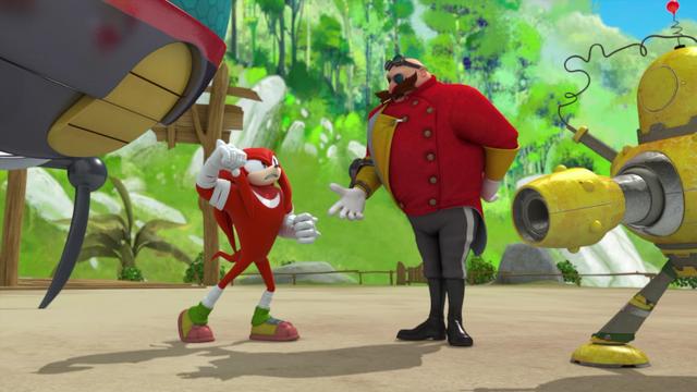 File:Knuckles vs Eggman.png
