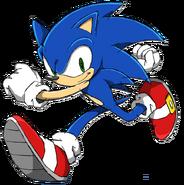 Sonic Channel - Sonic The Hedgehog - 2011 Artwork