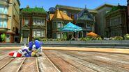 Sonic Modern in City Escape