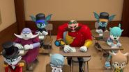 Villains taking their test