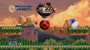 Splash Hill Zone Boss Eggmobile con bola demoledora HD