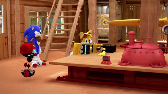 File:Tails fixing Cubot (Sonic Boom).png