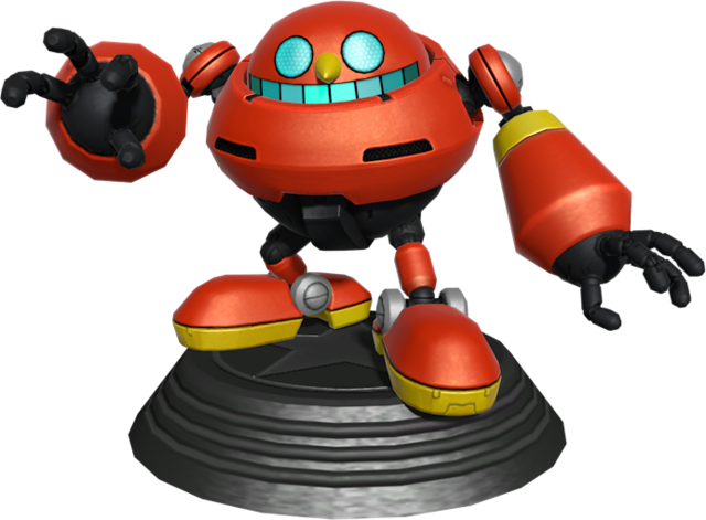 File:Sonic Generations Egg Pawn Statue.png