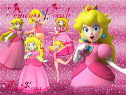 Princess Peach Wallpaper FlopiSega