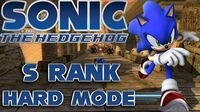 Sonic The Hedgehog 2006 - Sonic Dusty Desert - Hard Mode S Rank