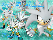 Silver The Hedgehog Wallpaper FlopiSega