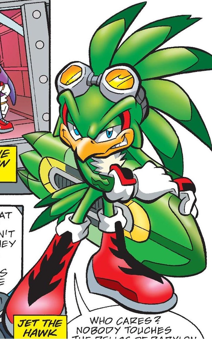 Jet the Hawk (Pre-Super Genesis Wave) | Sonic News Network ...