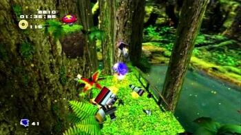 Sonic Adventure 2 (PS3) Green Forest Mission 5 A Rank