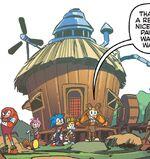 Tails House Archie Comics