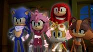 Team Sonic glow