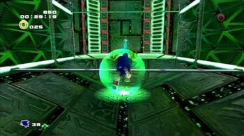 Sonic Adventure 2 (PS3) Crazy Gadget Mission 2 A Rank