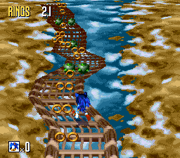 Special Stage Sonic 3d Blast Sonic News Network