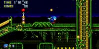 Stardust Speedway Zone (Sonic Mania)