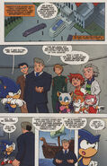 Sonic X issue 2 page 2