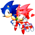 Sonic and Amy 1