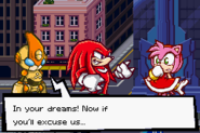 Emeral,Knuckles and Amy