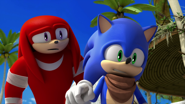 File:S1E03 Knuckles and Sonic.png