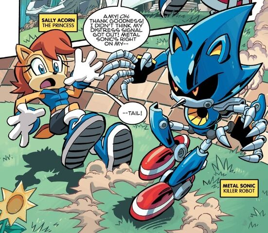 File:Metal Sonic About to Attack Sally.jpg