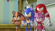S2E09 Sticks Sonic Knuckles and Amy