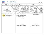 Cross Eyed Moose storyboard 13