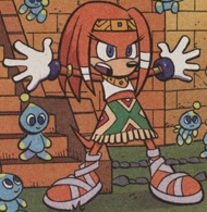 Sonic X issue 6 page 3 - Kopi