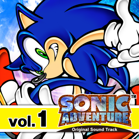 File:Sonic Adventure Original Soundtrack Volume 1.png