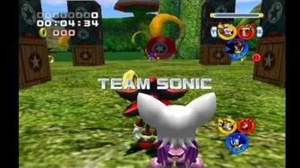 Sonic Heroes Team Dark vs