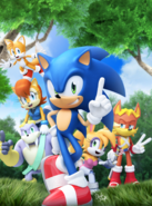 Sonic super digest 6 raw cover