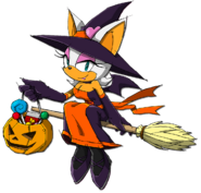 Rouge Halloween Sonic Channel