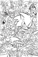 Sonic 11 main cover no color