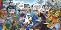 Archie Sonic the Hedgehog Issue 214