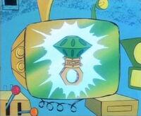 Chaos Emerald Ring