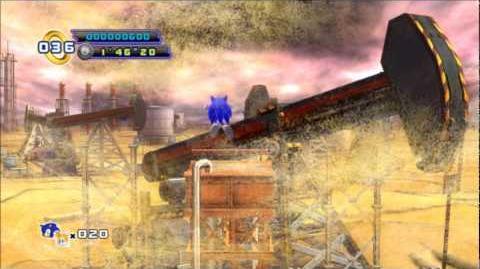 Sonic 4 Episode 2 - Oil Desert Act 1