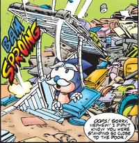 Chucks base comic