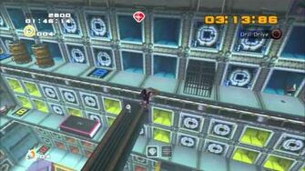 Sonic Adventure 2 (PS3) Security Hall Mission 1 A Rank