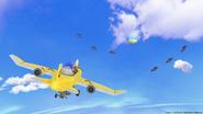 RITS2 plane scene
