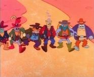 Robot Cowboys