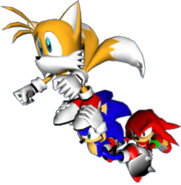 Team Sonic - Fly Formation