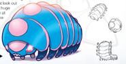 Giant Millipede artwork